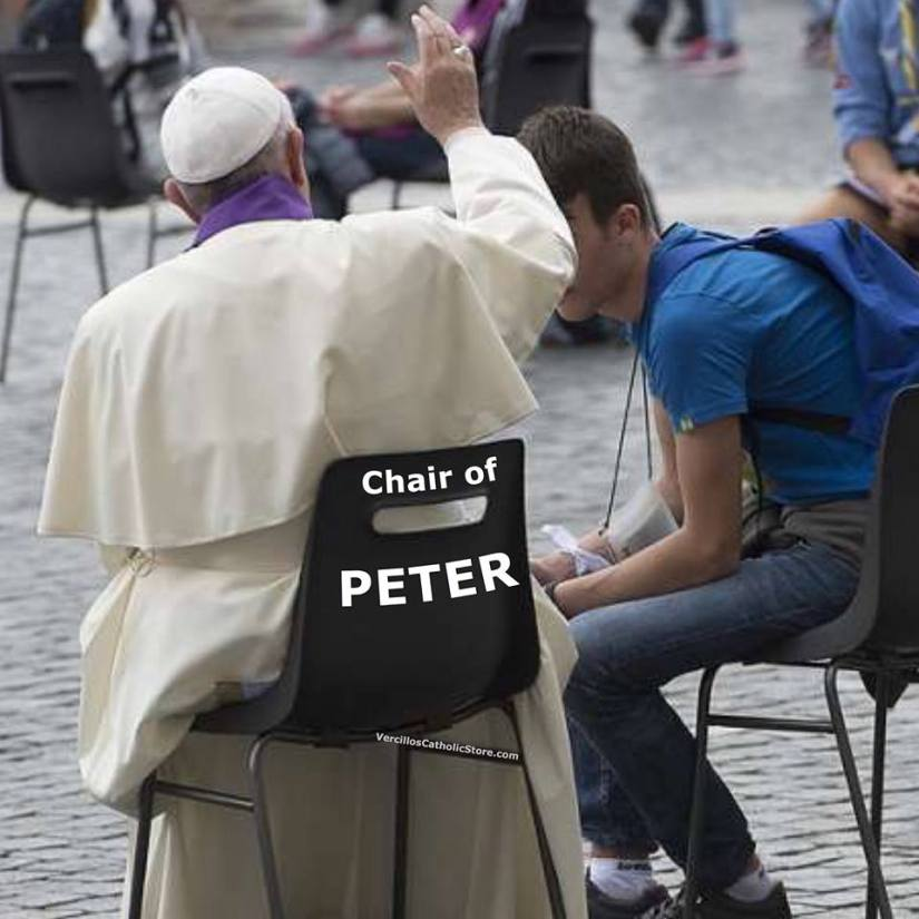Chair of Peter