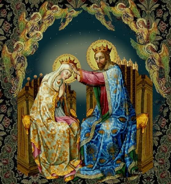 Apsal mosaic of Christ and Mary, Queen of Heaven - St. Mary Major -